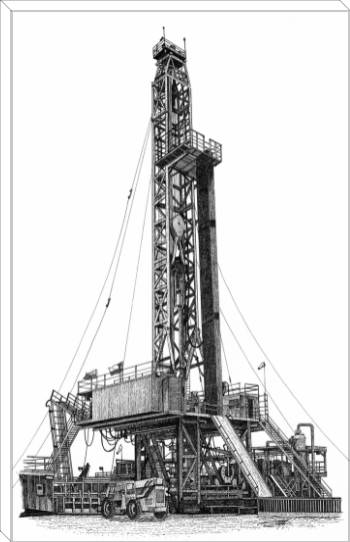 Nabors rig